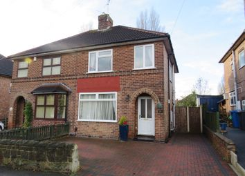 Thumbnail 3 bedroom semi-detached house for sale in Buxton Road, Chaddesden, Derby