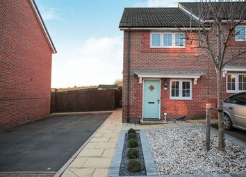 Thumbnail 2 bed semi-detached house for sale in Currane Road, Nuneaton