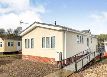 Thumbnail 2 bedroom mobile/park home for sale in Allington Lane, West End, Southampton
