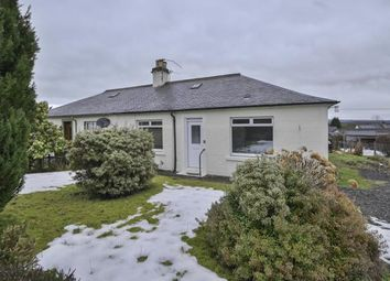 Thumbnail 2 bed semi-detached bungalow to rent in Queensferry Road, Muthill, Crieff