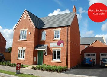 Thumbnail 4 bed detached house for sale in Southfield Avenue, Sileby, Loughborough