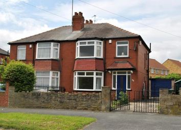 Thumbnail 3 bed semi-detached house to rent in Oakwood Lane, Leeds