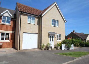 Thumbnail 3 bed link-detached house for sale in Crown Field Road, Glemsford, Sudbury