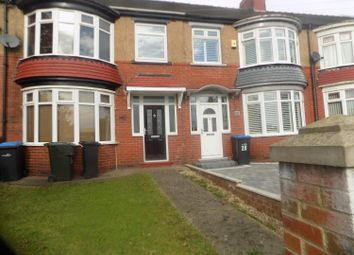 Thumbnail 3 bed semi-detached house to rent in Burlam Road, Middlesbrough