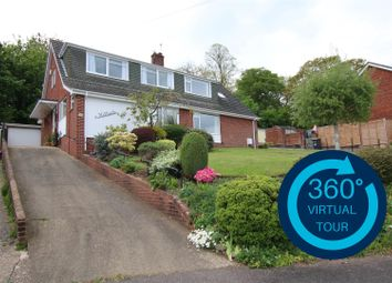 Thumbnail 4 bed semi-detached house for sale in Woodbury View, St Thomas, Exeter