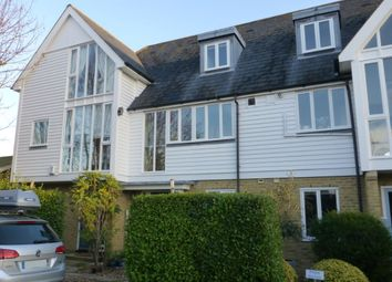 Thumbnail 3 bed terraced house to rent in Saxon Shore, Island Wall, Whitstable