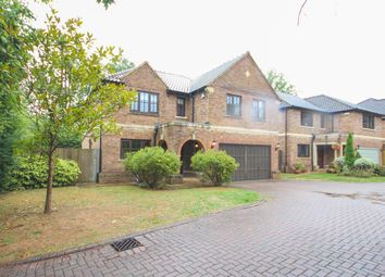 Thumbnail 5 bed detached house to rent in Ryelaw Road, Church Crookham, Fleet