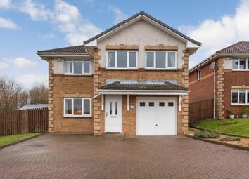 Thumbnail 5 bedroom detached house for sale in Carrickvale Court, Carrickstone, Cumbernauld, North Lanarkshire