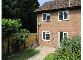 Thumbnail 3 bed end terrace house to rent in Launcelyn Close, North Baddesley