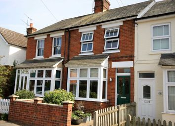 Thumbnail 2 bed semi-detached house to rent in Clarence Road, Fleet