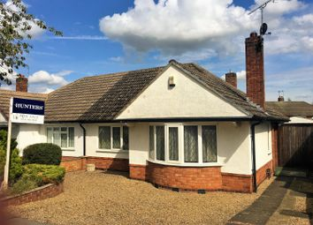 Thumbnail 2 bed semi-detached bungalow for sale in Highcroft Avenue, Oadby, Leicester