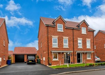 Thumbnail 4 bed semi-detached house for sale in Lakeside Boulevard, Cannock