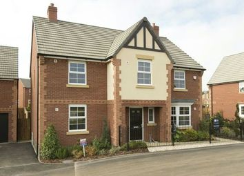 Thumbnail 4 bed detached house to rent in York Way, Harlestone Manor, Duston, Northampton
