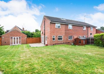 Thumbnail 4 bed semi-detached house for sale in Barn Mead, Doddinghurst, Brentwood