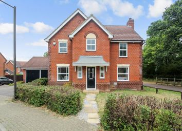 Thumbnail 4 bed detached house for sale in Hengistbury Lane, Tattenhoe, Milton Keynes