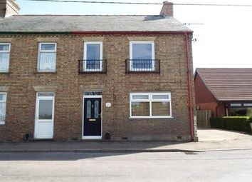 Thumbnail 3 bed end terrace house to rent in School Road, Upwell, Wisbech