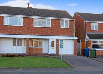 Thumbnail 3 bed semi-detached house for sale in Canning Road, Glascote, Tamworth, Staffs