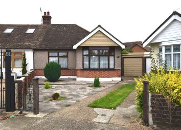 Thumbnail 2 bed semi-detached bungalow for sale in Chadville Gardens, Chadwell Heath, Romford
