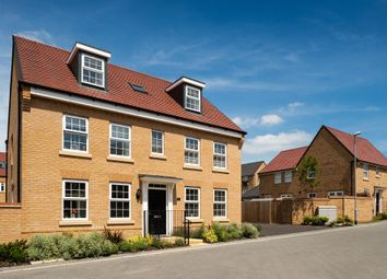 "Thumbnail 5 bed detached house for sale in ""Buckingham"" at Fen Street, Brooklands, Milton Keynes"