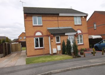 Thumbnail 2 bed semi-detached house to rent in Loxley Drive, Mansfield