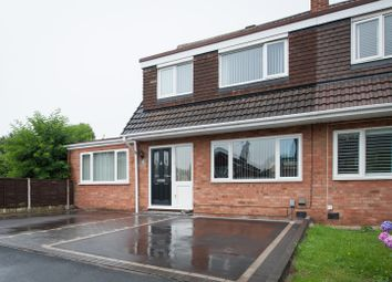 Thumbnail 3 bed semi-detached house for sale in Castlehall, Tamworth