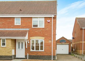 Thumbnail 3 bedroom semi-detached house for sale in Queens Way, Lowestoft Road, Blundeston, Lowestoft