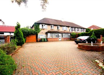 Thumbnail Semi-detached house for sale in Little Woodcote Lane, Purley