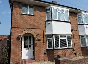 Thumbnail 3 bed semi-detached house to rent in West Street, Portchester, Fareham