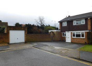 Thumbnail 4 bed semi-detached house to rent in Salt Hill Close, Uxbridge