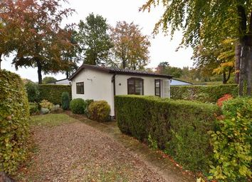Thumbnail 1 bed mobile/park home for sale in Woodland Rise, The Grange Estate, Church Crookham, Fleet