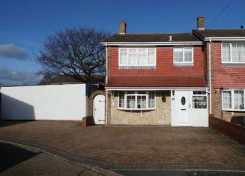 3 bed end terrace house for sale in Parker Close, Gosport, Hampshire PO12
