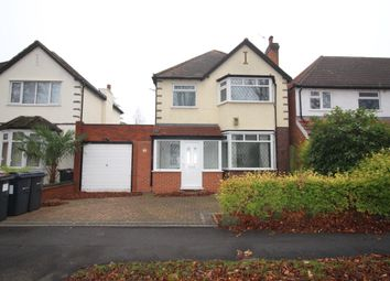 Thumbnail 3 bed link-detached house to rent in Smirrells Road, Hall Green, Birmingham, West Midlands