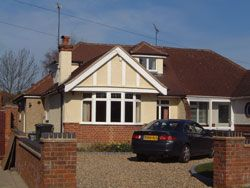 Thumbnail 1 bed bungalow to rent in Wimbourne Grove, Watford