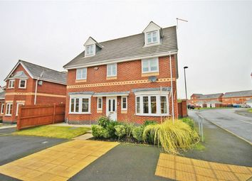Thumbnail 5 bed detached house for sale in Baltimore Gardens, Great Sankey, Warrington