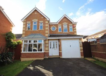 Thumbnail 4 bed detached house for sale in Asgard Way, Scartho Top, Grimsby