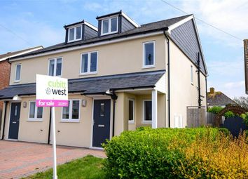 Thumbnail 3 bed semi-detached house for sale in Warren Avenue, Wooodingdean, Brighton, East Sussex