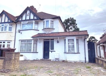 Thumbnail 4 bed semi-detached house for sale in Walsingham Gardens, Stoneleigh Epsom