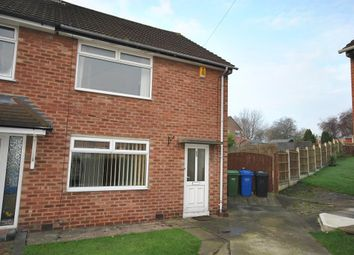 Thumbnail 2 bed semi-detached house to rent in Kingswood Close, Chesterfield