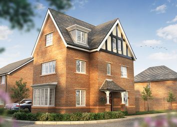 Thumbnail 4 bed detached house for sale in Church Lane, Wistaston, Crewe