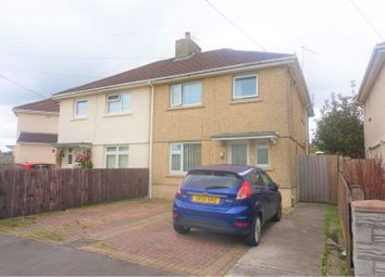 Thumbnail 4 bed semi-detached house for sale in Brynamlwg Road, Gorseinon
