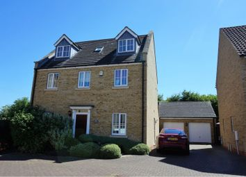 Thumbnail 5 bed detached house for sale in Meadow Lane, Haddenham, Ely