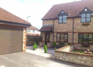 Thumbnail 3 bed semi-detached house to rent in South Farm Drive, Skellow, Doncaster