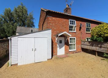 Thumbnail 2 bed end terrace house for sale in The Street, Brampton, Norwich