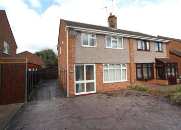 Thumbnail 3 bedroom semi-detached house for sale in Delamere Road, Bedworth