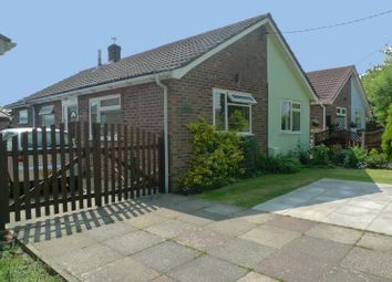 Thumbnail 3 bed detached bungalow for sale in Post Office Road, Little Plumstead, Norwich