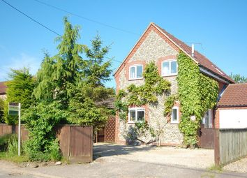 Thumbnail 3 bedroom link-detached house for sale in Barney Road, Fulmodestone, Fakenham