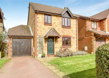 Thumbnail 3 bed detached house for sale in Burydown Mead, North Waltham, Basingstoke