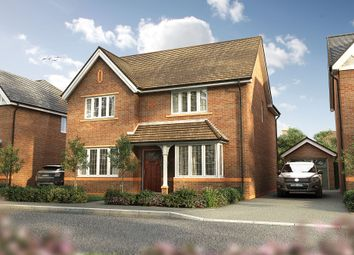 "Thumbnail 4 bed detached house for sale in ""The Shirley"" at Omega Boulevard, Warrington"