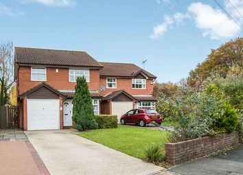 Thumbnail 3 bed detached house for sale in Chaffinch Close, Totton, Southampton