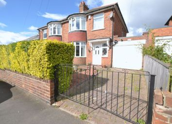 Thumbnail 3 bed semi-detached house for sale in Teesdale Gardens, High Heaton, Newcastle Upon Tyne